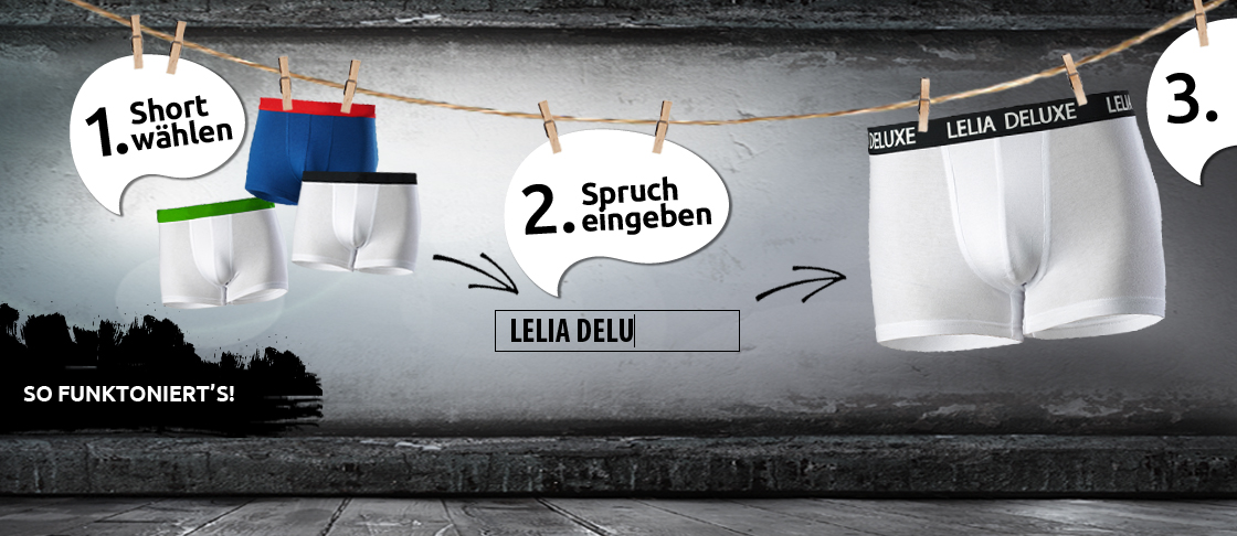 Banner Geschenk-Boxershort